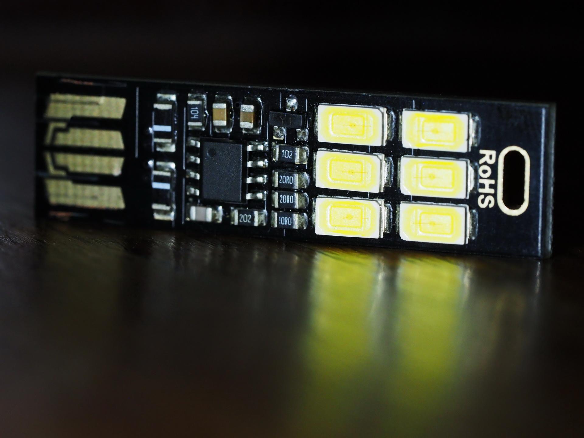 The USB LED Card