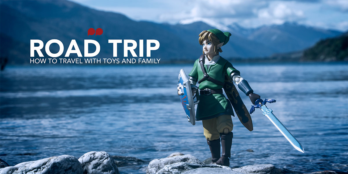Road Trip – or how to travel with toys and family