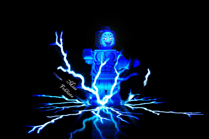 Electro is making the lightning