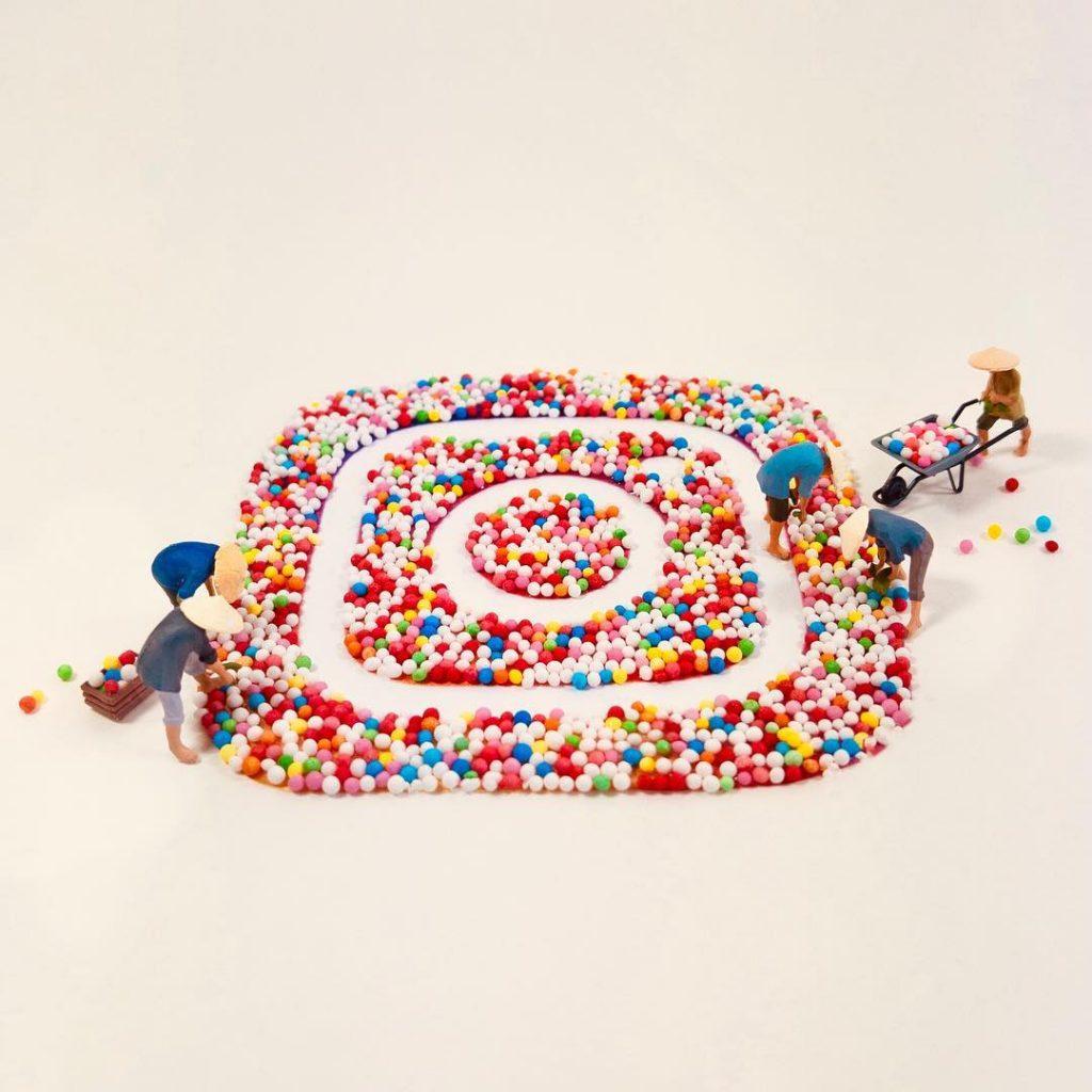 Instagram Preiser toy photography by Astrid Heyland