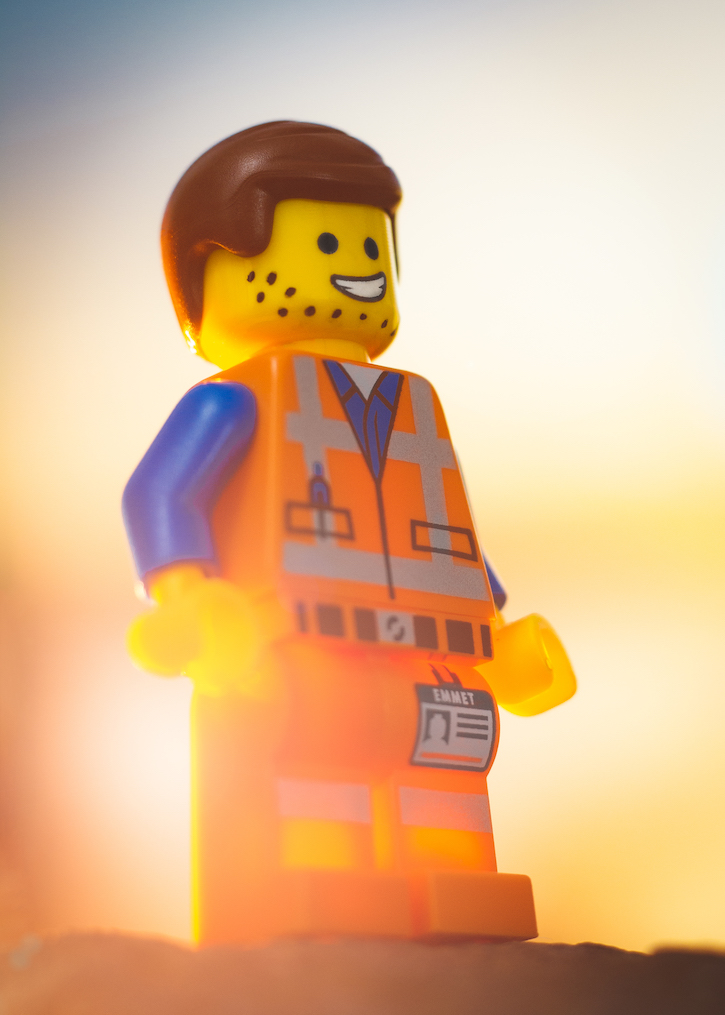 Stubble dot Emmet LEGO Movie 2