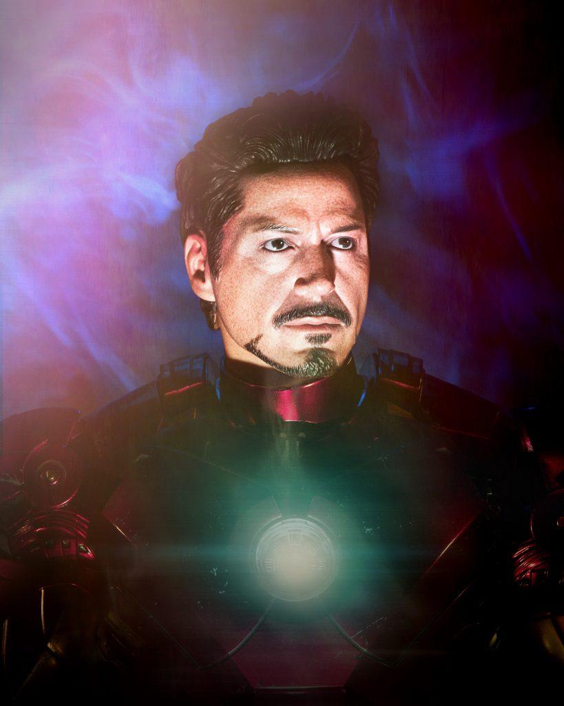 Iron Man portrait
