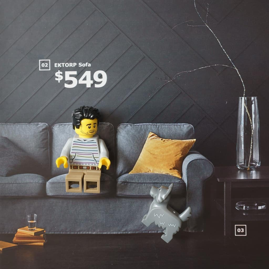 IKEAxLEGO by Anna Bitanga Four Bricks Tall