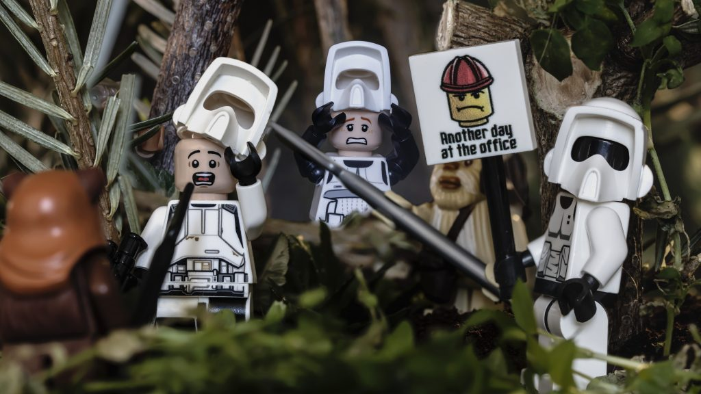 Endor: another day at the office