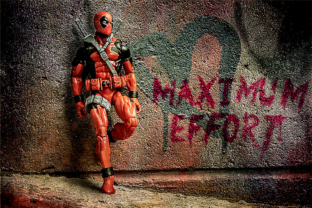 Deadpool in Graffiti Alley