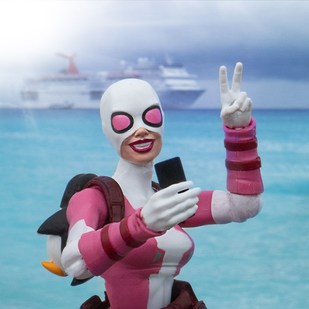 Gwenpool in theBahamas
