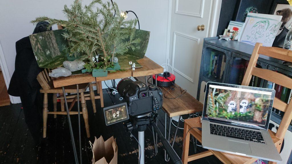 Endor: kitchen table setup