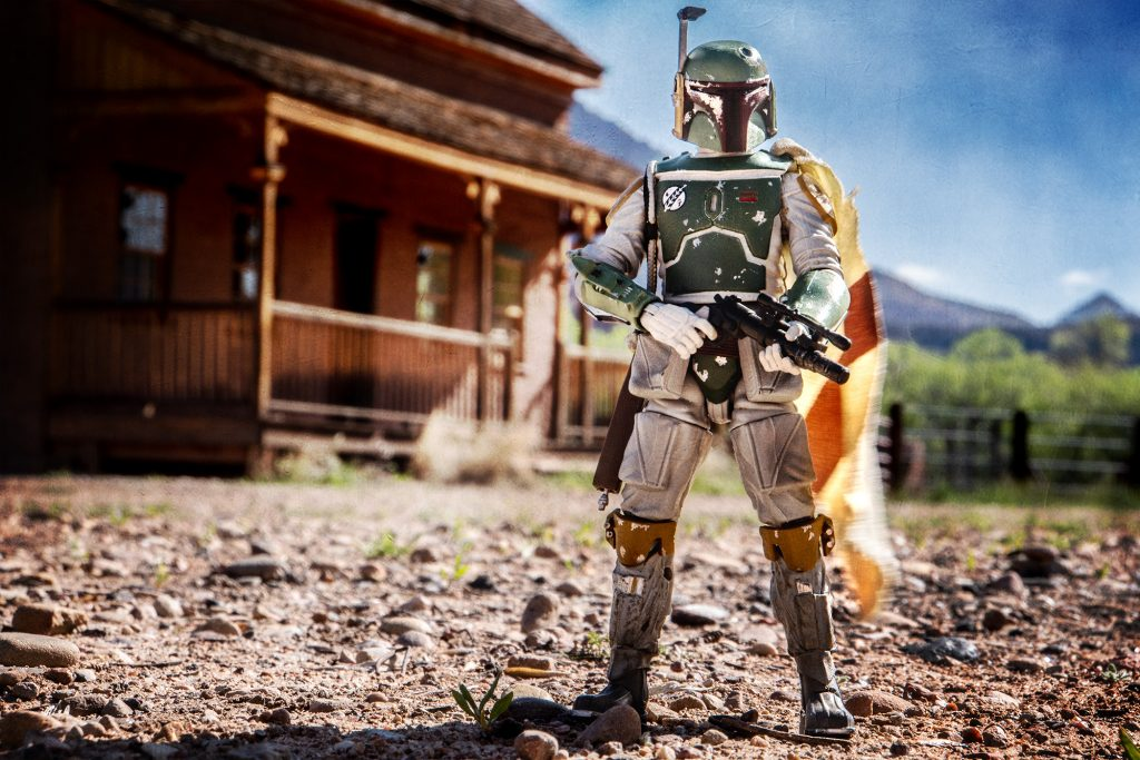 Boba Fett at Grafton Ghost Town