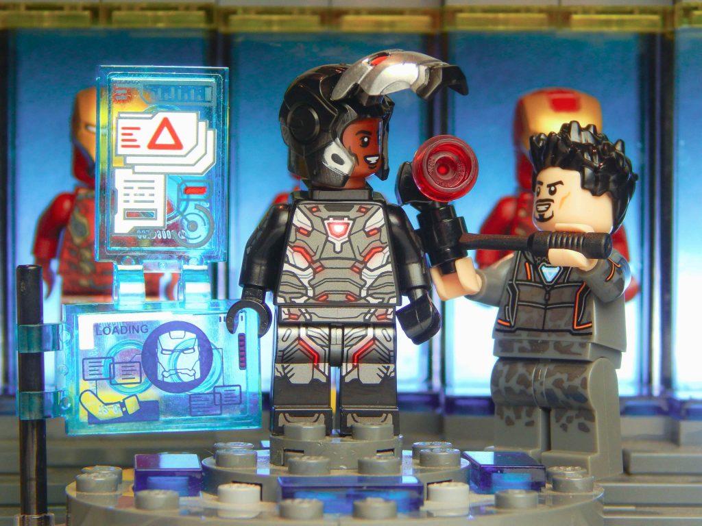 Marvel: Rhodey and Tony