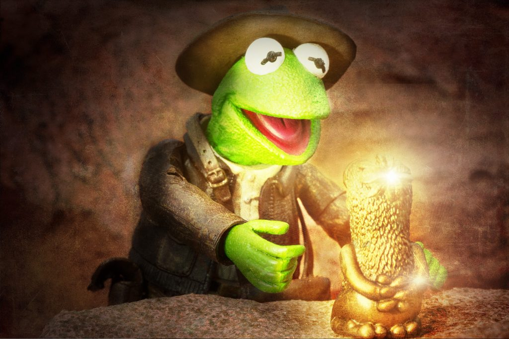 Kermit Indiana Jones