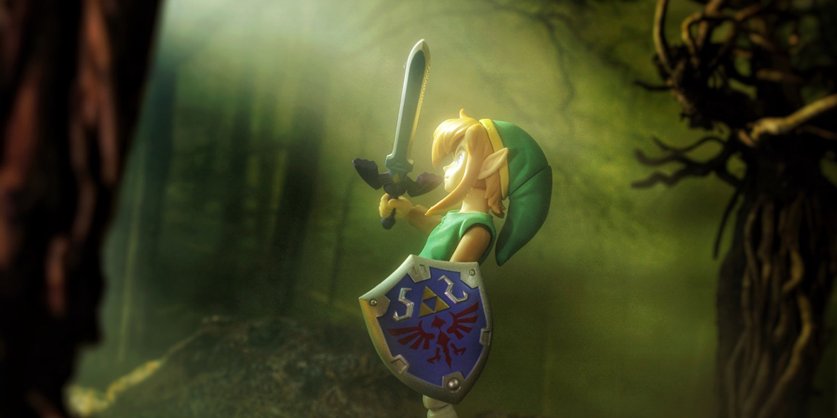 The Legend of Zelda In Six Images