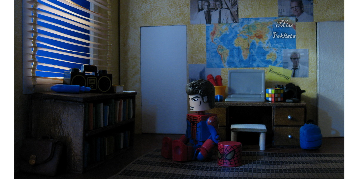 """Minimates"" action figures: The Amazing Spider Man"