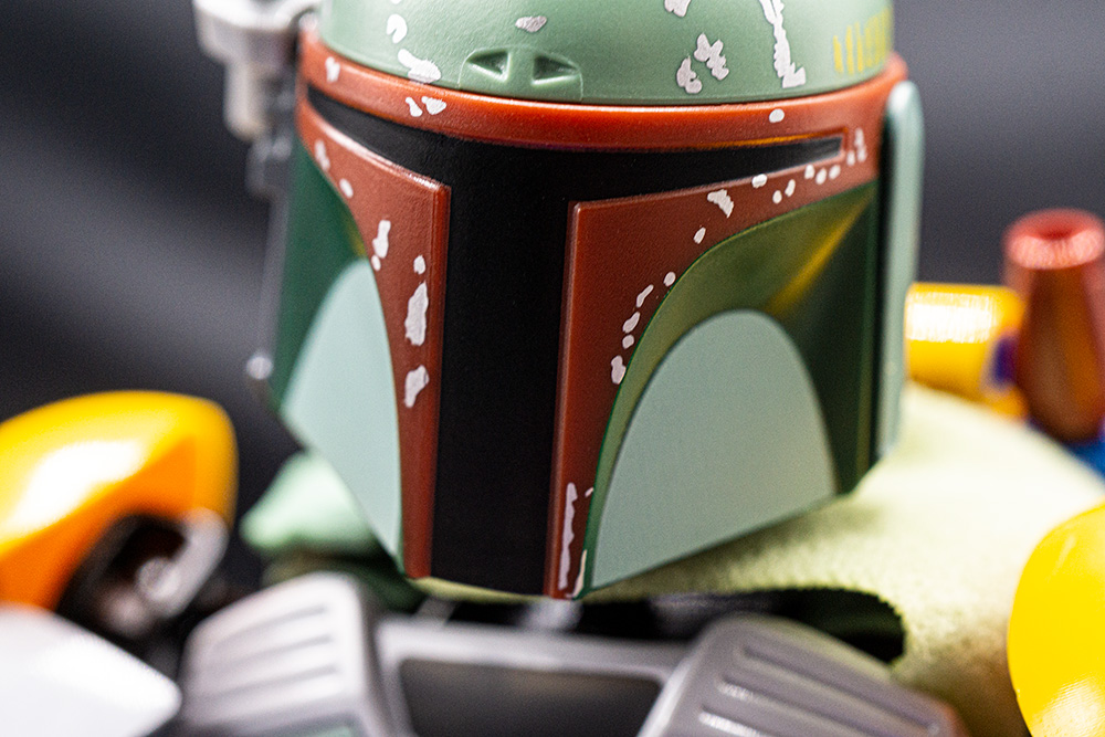 Boba Fetts helmet, both a bad-ass disguise, and excellent bike safety gear.