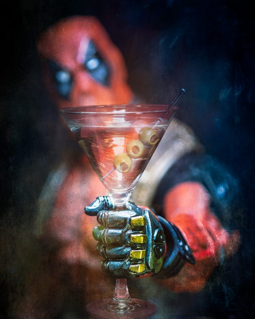 Deadpool Martini