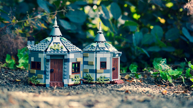 Hagrid's LEGO hut