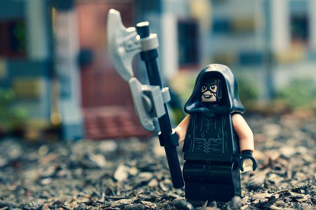 LEGO McNair figure