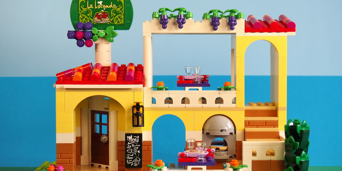 LEGO 'Friends' Restaurant 41379 Review