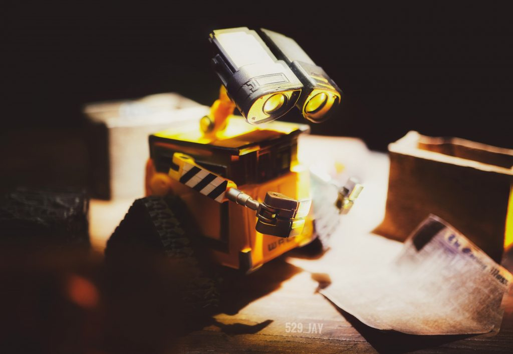 Wall-E finding Eve