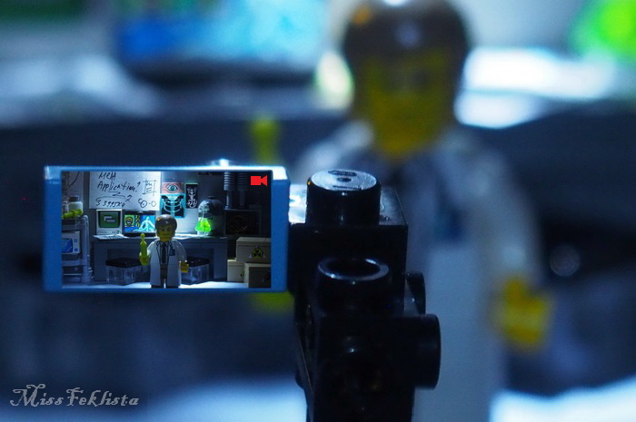 The scientist's camera