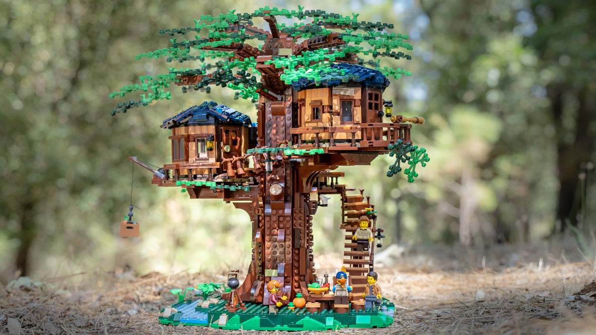 LEGO Ideas Treehouse - @mightysmallstories