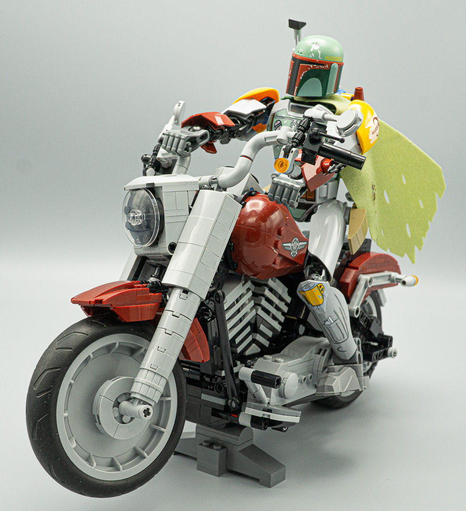 Boba Fett On The Fat Boy