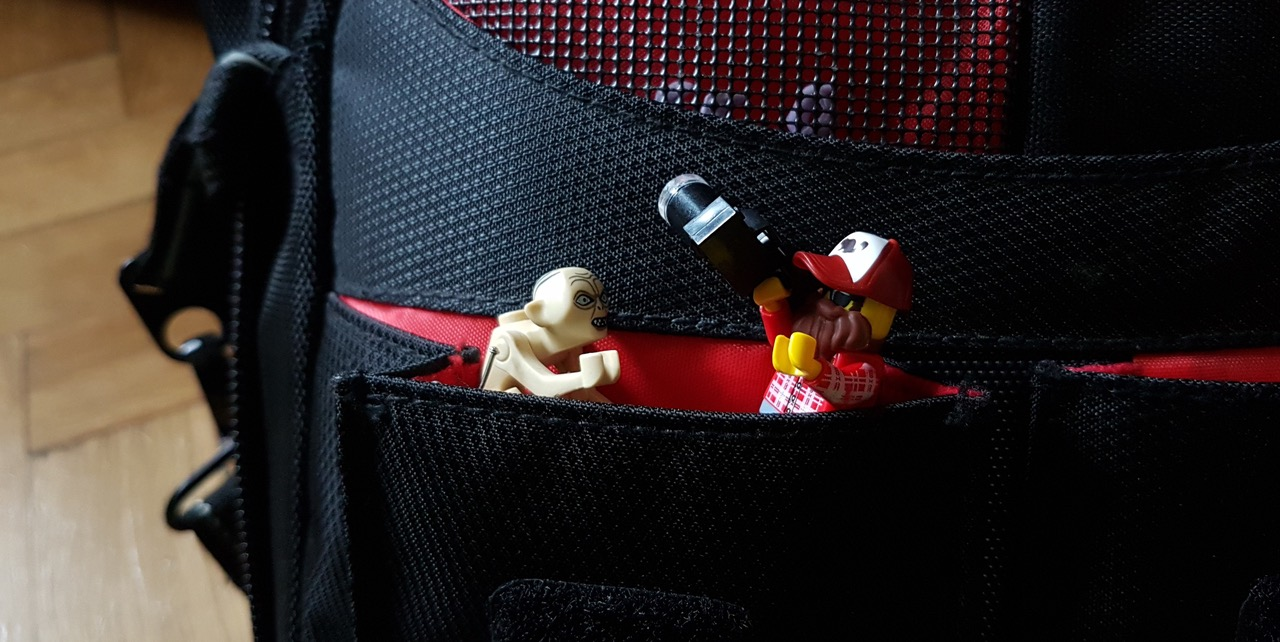 What's in my bag? by Tomek