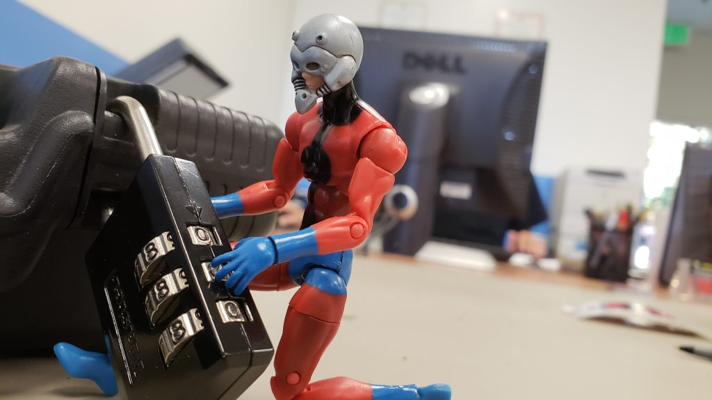 Ant-Man Needs The Right Combination by @teddi_toyworld