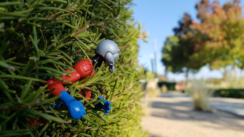 Ant-Man on a Stake-Out by @teddi_toyworld