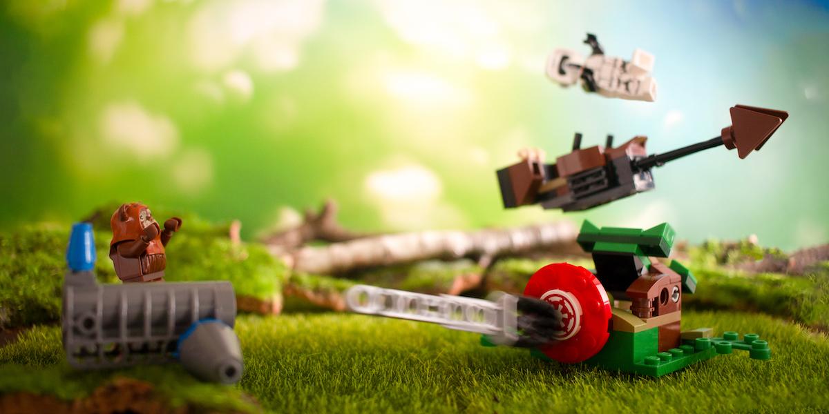 Battle on Endor! LEGO 75238 Review