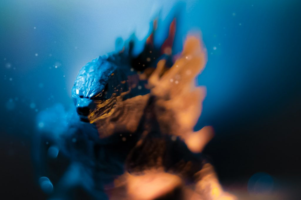 Godzilla by @inspiredbyandre