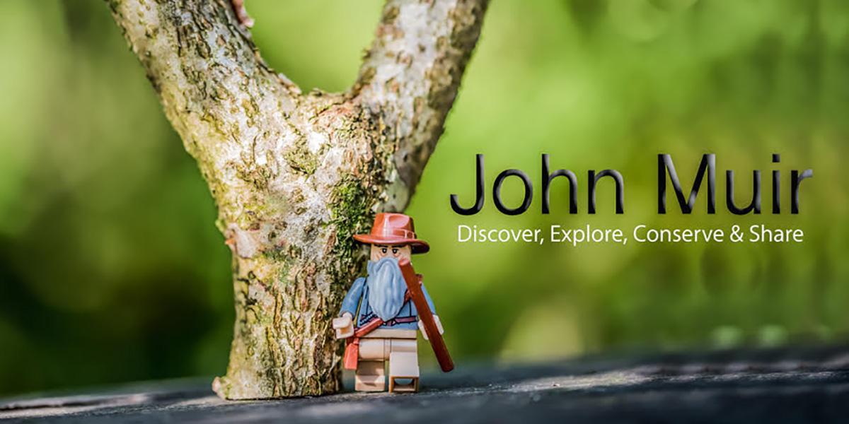 LEGO John Muir
