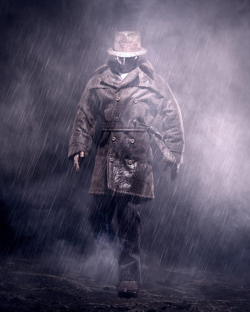 Rorshach In The Rain