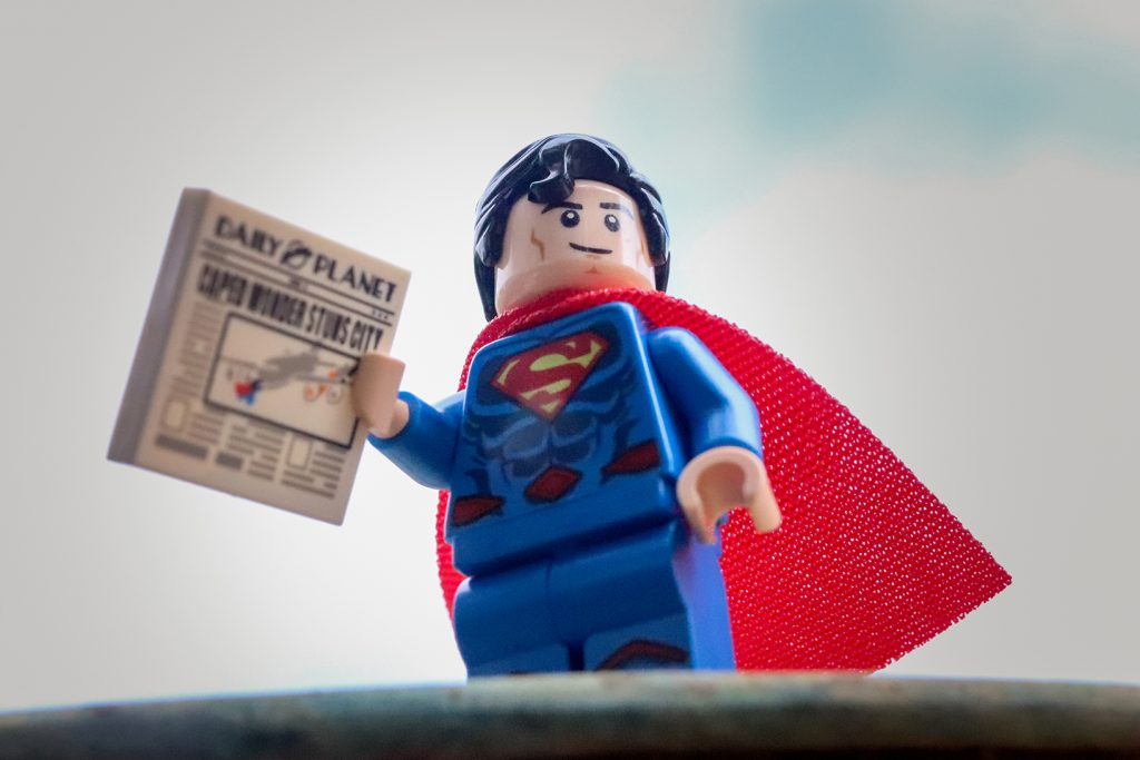 The DC Super Heroes Collectible Minifigures