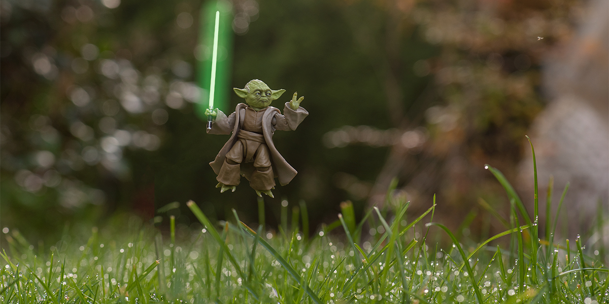 Using the Force of Photoshop with Yoda