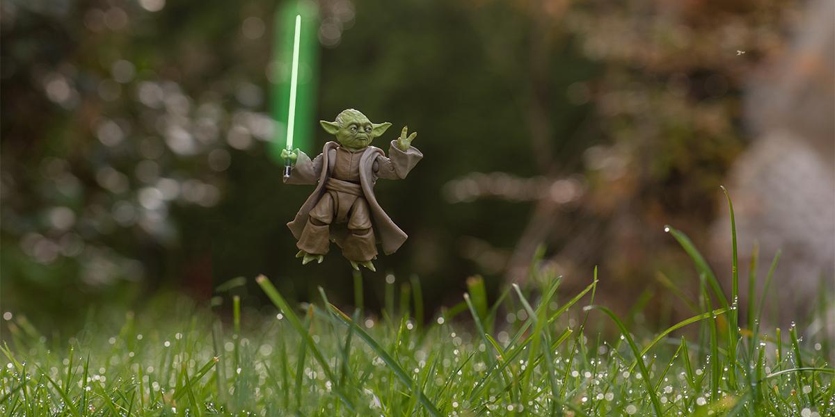 Yoda header by Matt McDonald