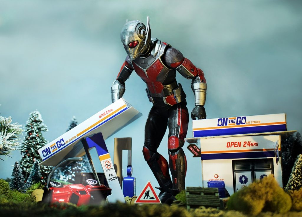 Toy photographer Oliver Peterson, @oliversees, explains how Marvel's Ant-Man and his many action figures allow for fun with scale.