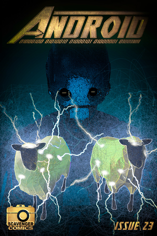 Do Androids Dream Of Electric Sheep comic book cover
