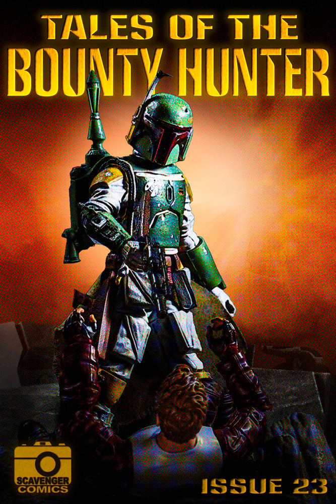 Tales Of The Bounty Hunter comic book cover.