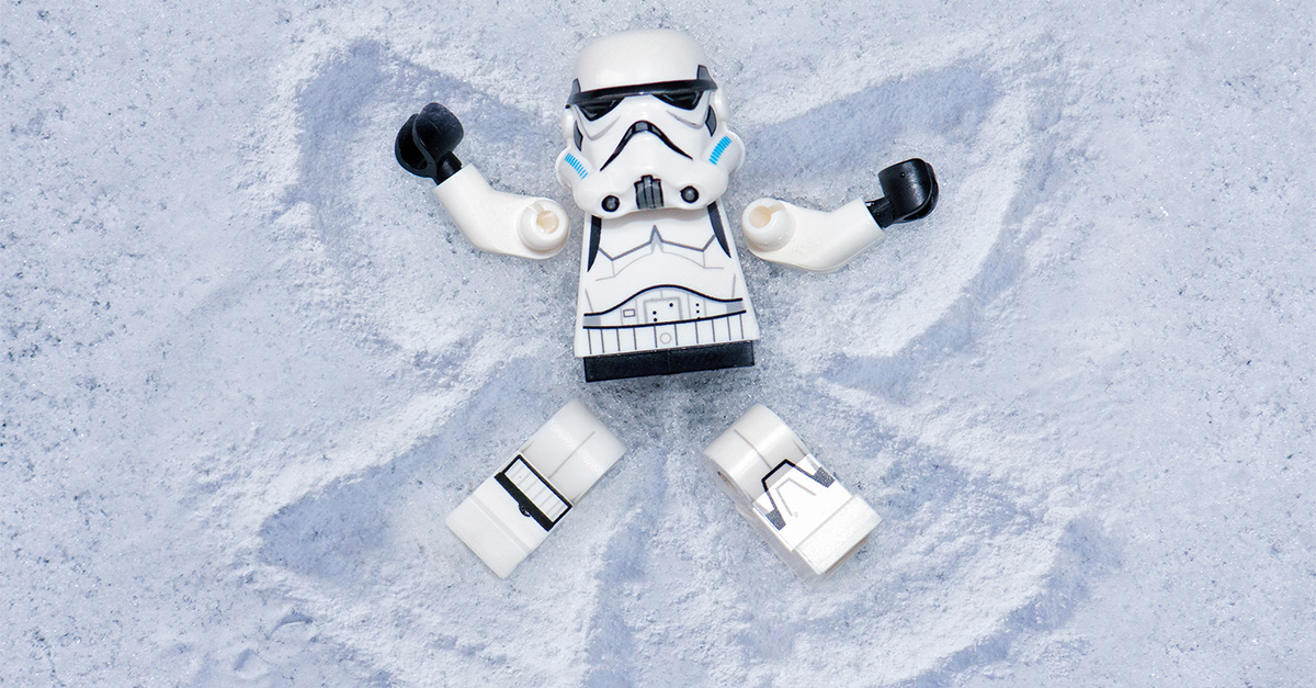 Stormtrooper Snow Day