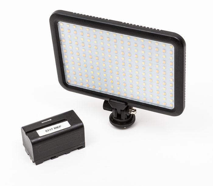 LED Panel and battery
