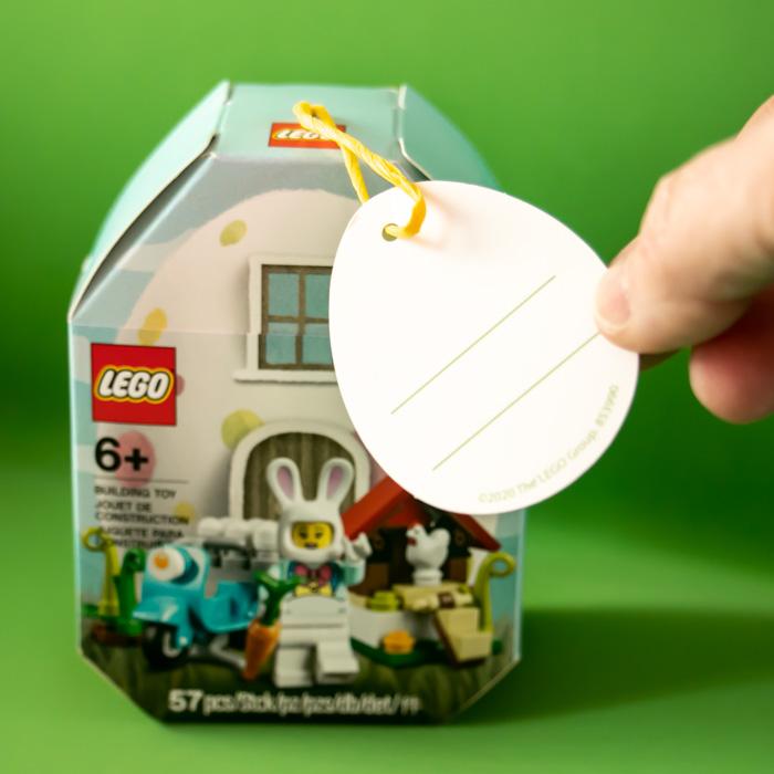 LEGO iconic 853990 Easter Bunny LEGO set- pic 2 by Teddi Deppner