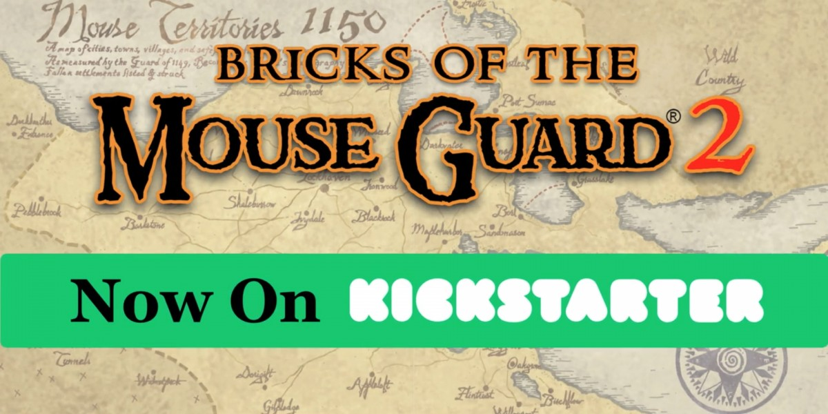 Podcast 80 – Bricks of the Mouse Guard 2 with Crazy Bricks Founder Guy Himber