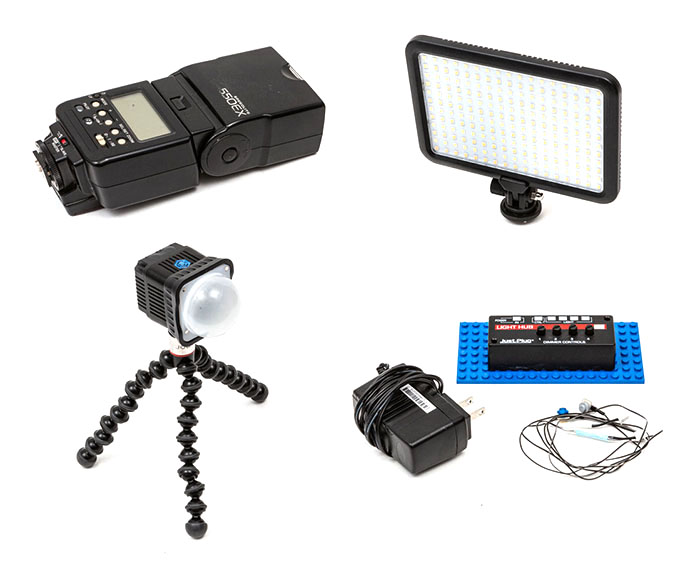 Four Lighting Sources