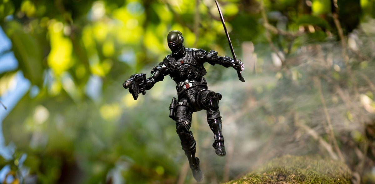 Snake Eyes Epic Action Figure Photography Extravaganza