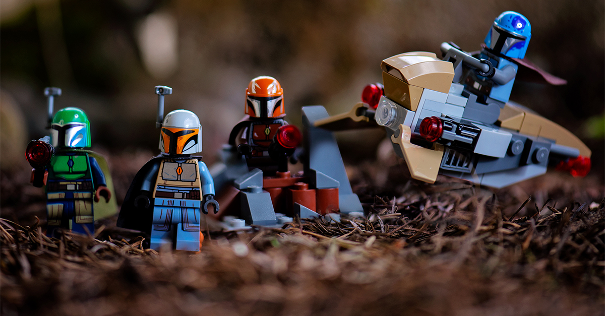LEGO Mandalorian Battle Pack Photos and Review