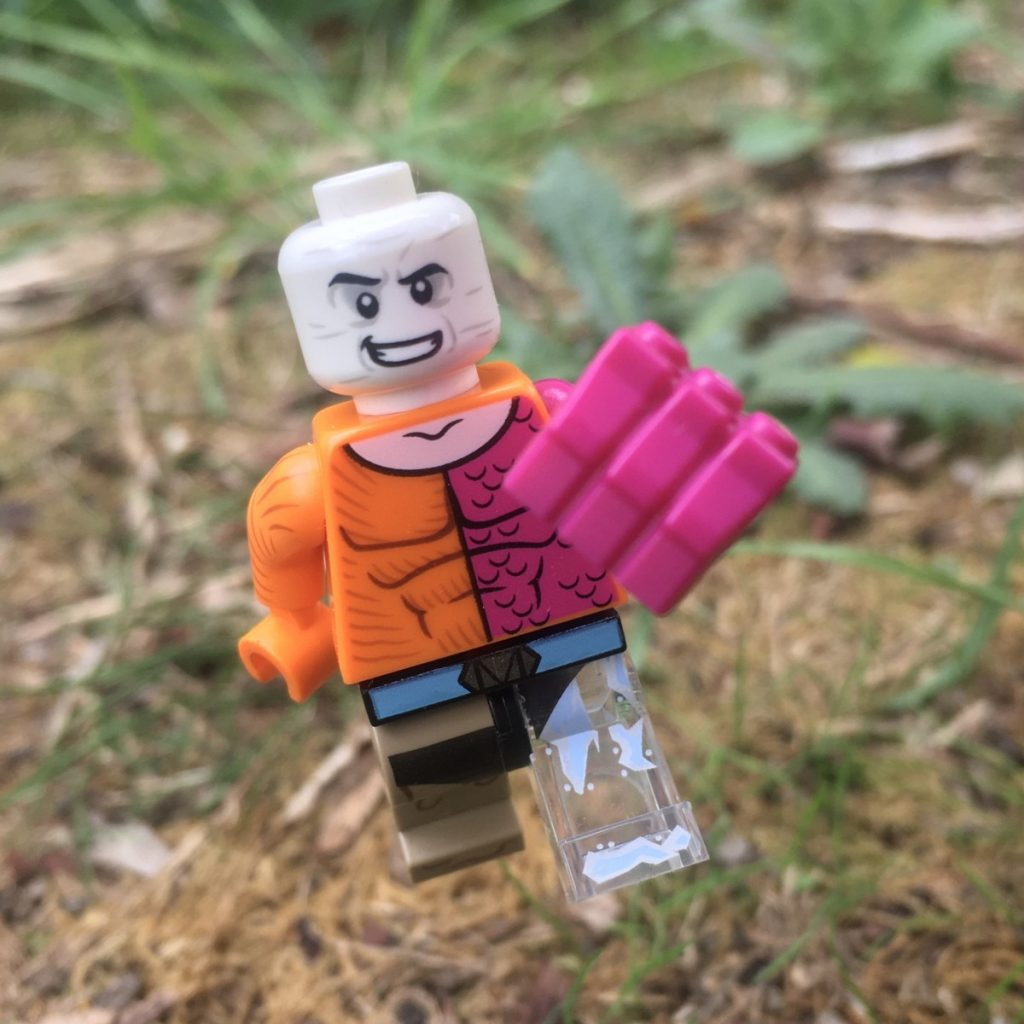 Photo by Adam Ford: Lego DC Superheroes Metamorpho leaps into action