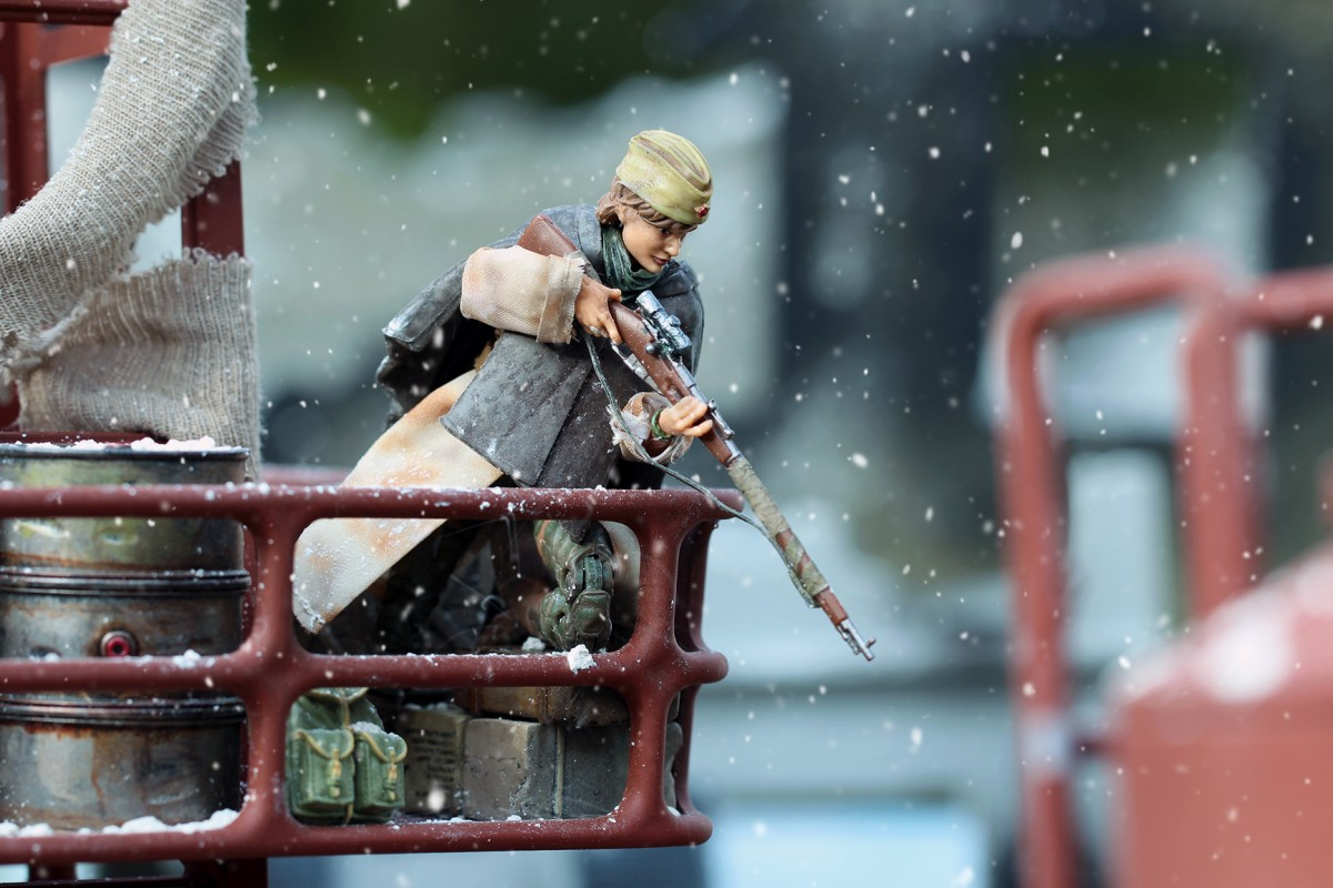 Lady Death: A WWII Sniper Story in 1:18 Scale