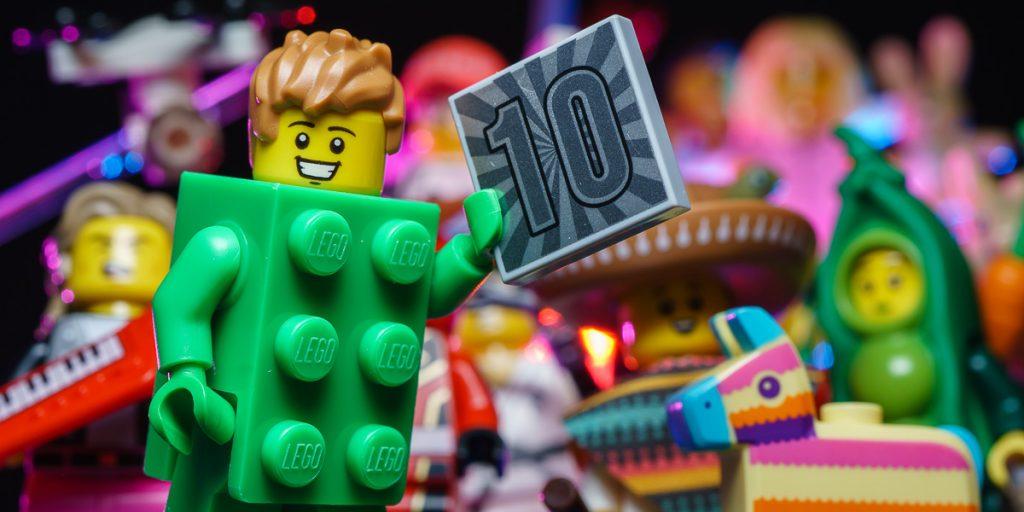 LEGO CMF Series 20 - Green Brick Guy