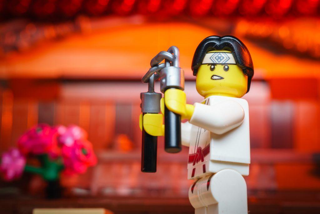 LEGO CMF SERIES 20 - Nunchaku Guy Minifigure