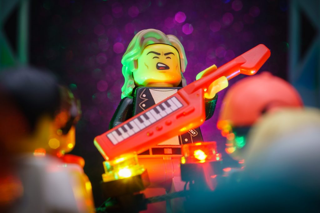LEGO CMF SERIES 20 Electronic Musician